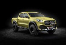 Mercedes dévoile le Classe X, son futur pick-up