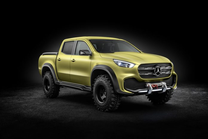 Mercedes dévoile le Classe X, son futur pick-up