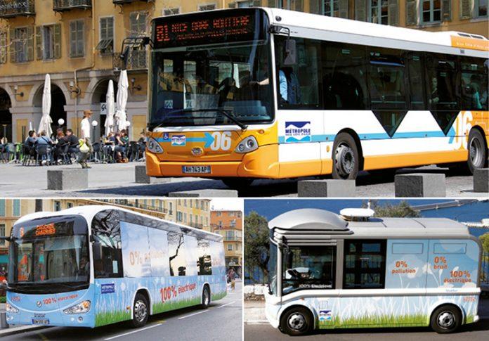 Métropole Nice Côte d'Azur : vers la mobilité décarbonée