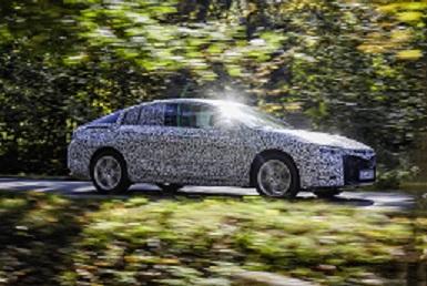 Le futur haut de gamme d'Opel bientôt prêt