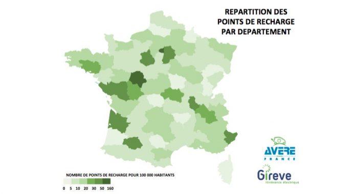 15 000 points publics de recharge électrique en France