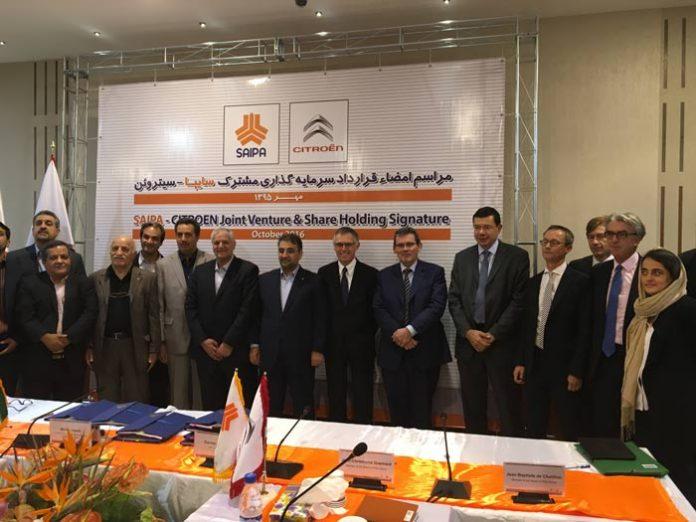 Une joint-venture entre PSA et SAIPA en Iran