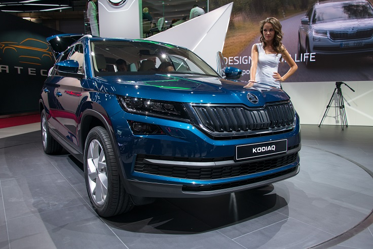 mondial de paris 2016 le skoda kodiaq un grand suv de conqu te. Black Bedroom Furniture Sets. Home Design Ideas