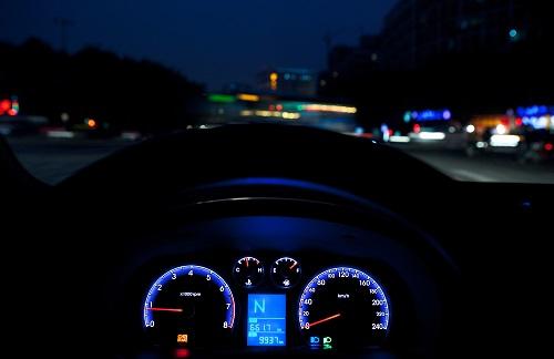 Une opération de sensibilisation à la visibilité la nuit