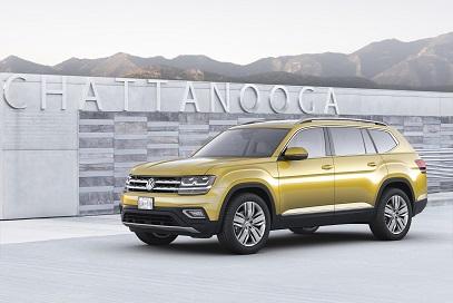 Volkswagen Atlas : un nouveau grand SUV pour séduire l'Amérique