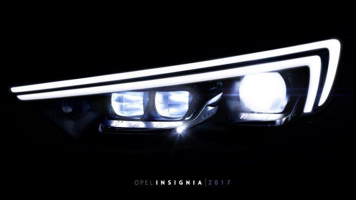 Un éclairage LED de pointe pour la nouvelle Insignia