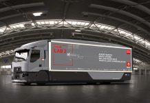 Un camion laboratoire moins consommateur chez Renault Trucks
