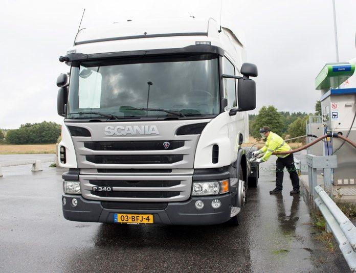 Opticruise disponible pour la motorisation gaz de Scania