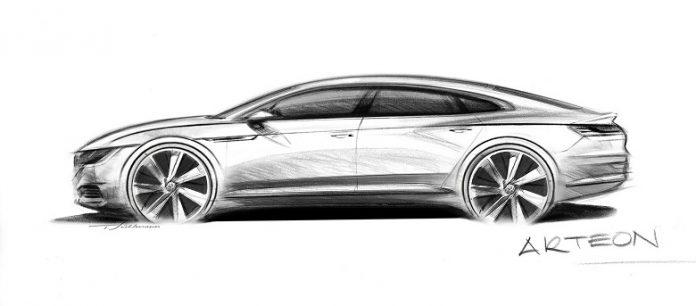 Volkswagen Arteon : un grand coupé 5 portes à l'approche
