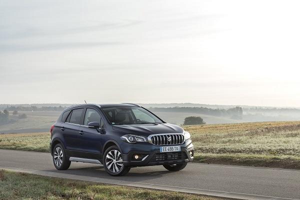 Suzuki S-Cross : restylage et montée en gamme