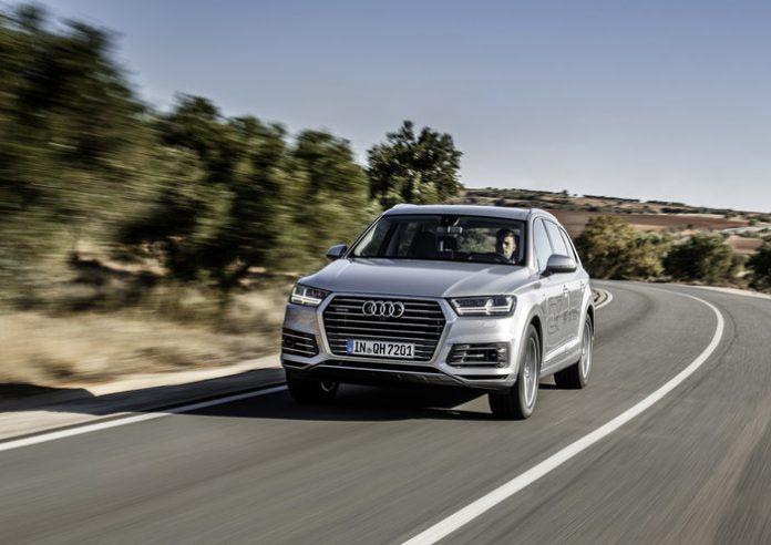 Audi Q7 e-tron : seul au monde ou presque