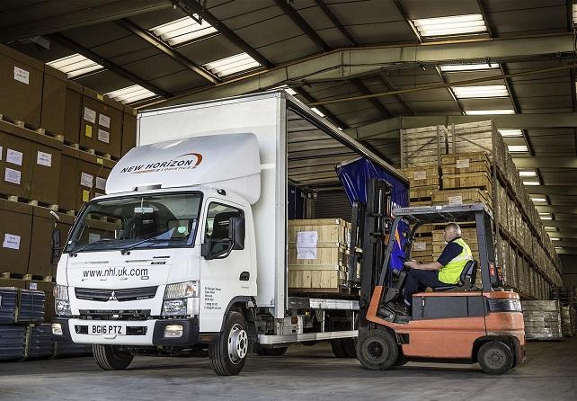 Un Fuso hybride pour New Horizon Logistics