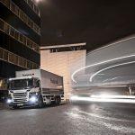 Vingt Scania GNC pour Franprix