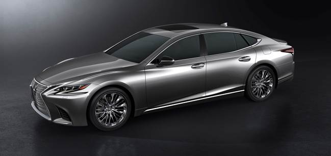 Détroit 2017 : Lexus dévoile sa nouvelle LS