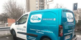 Autopartage électrique - VUL partagés Paris