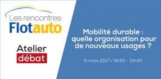 Atelier débat sur la mobilité durable