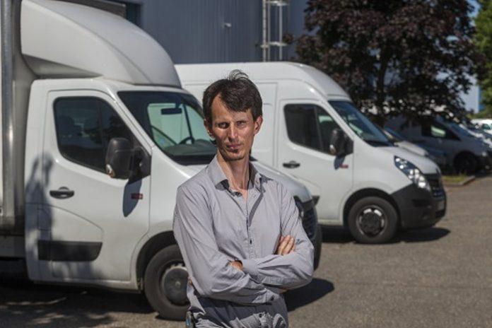 Clément Lagarde, responsable d'exploitation chez Tag Logistik