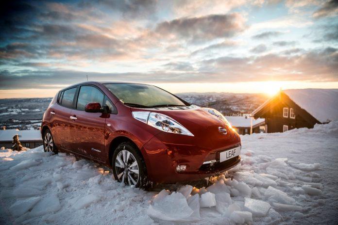 Nissan Leaf électrique 30kWh