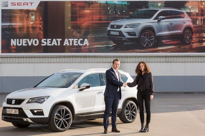 Seat confie une Ateca pour six mois à la start-up BeMobile
