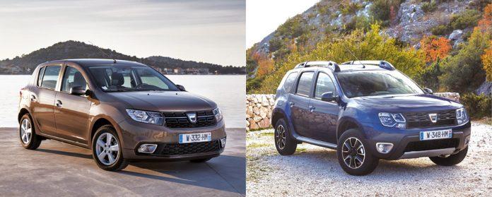 Dacia 2017 Duster et Sandero