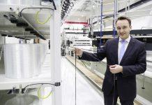 Des matériaux tissés à base de fibres de verre et de fibres de carbone - Open Hybrid LabFactory (Wolfsburg)