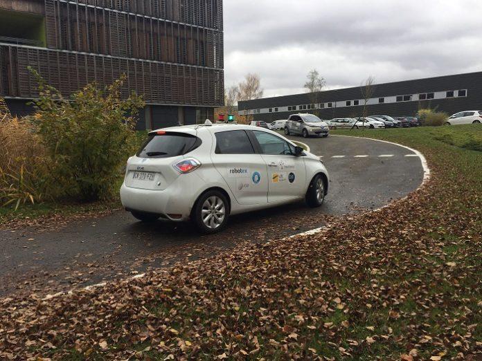 Renault Zoé autonome
