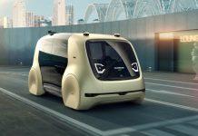 Sedric, le concept car autonome et électrique du Groupe Volkswagen