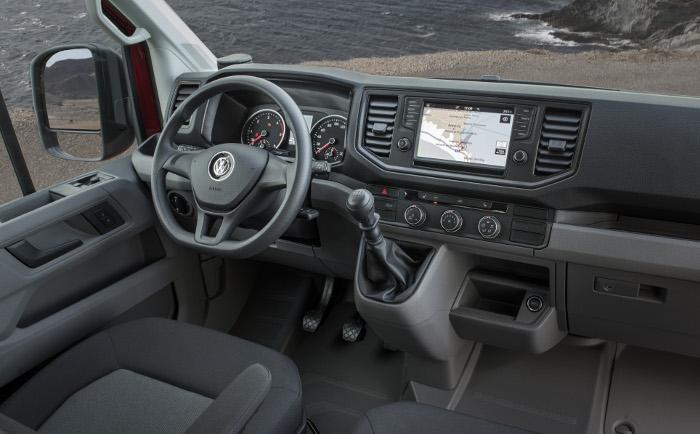 Volkswagen Crafter tableau de bord