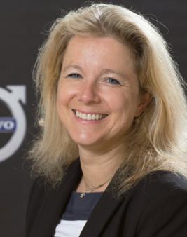 Nathalie Davenne, responsable des ventes sociétés, Volvo