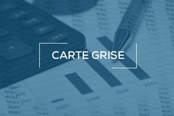 Taxes immatriculation véhicule - Carte grise