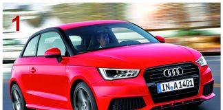 Le podium : 1- Audi A1 / 2 - Mini / 3 - DS3