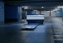 Parking robot voiturier