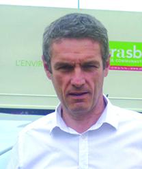 Benoît Weinling, chef du service parc véhicules et ateliers, Eurométropole