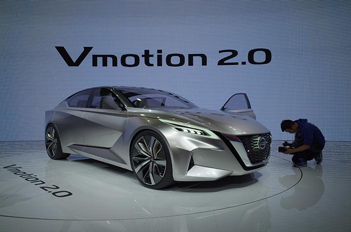 Concept Nissan Vmotion 2.0