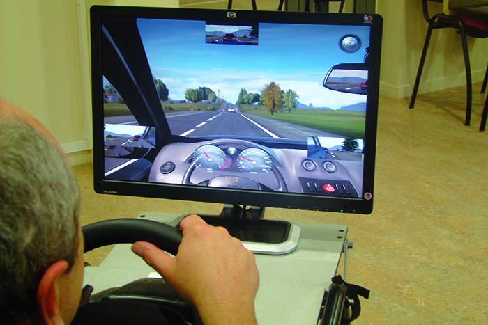 Écran de simulateur