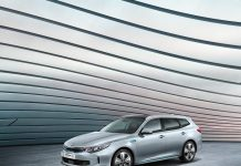 Kia Optima SW hybride rechargeable