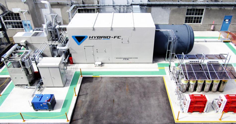 Toyota - Générateur électrique hybride - Pile à combustible 2