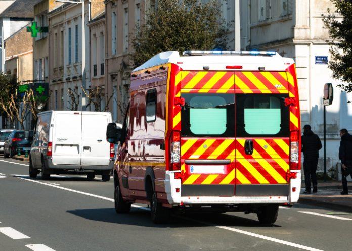 ambulance accident route