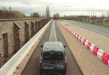 Piste d'essai Fabric Qualcomm Renault Vedecom - Test de la recharge dynamique sans fil pour véhicules électriques