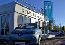 Renault Zoé véhicule d'occasion
