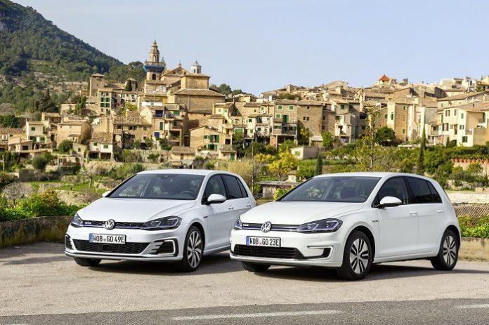 Volkswagen e-Golf et Golf GTE