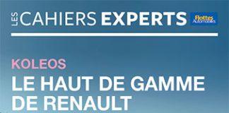 Cahiers experts Koleos le haut de gamme de Renault