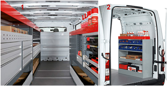1. Würth-Orsymobil – Gamme modulaire 2. Würth-Orsymobil – Gamme Access