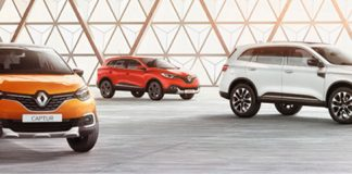 Renault CAPTUR, Renault KADJAR et Renault KOLEOS