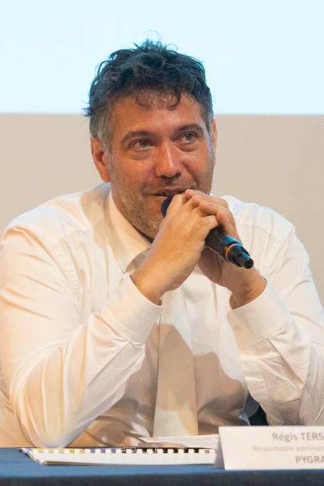 Régis Tersiquel, responsable administratif et financier et RH, Pygram