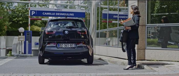 Cyber Valet Services parking camille desmoulins