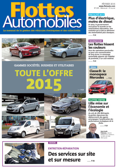 Flottes Automobiles N°205