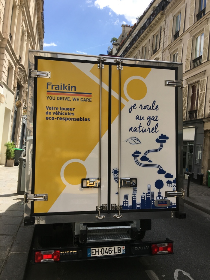 Fraikin GNV - Iveco Daily