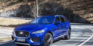SUV Jaguar F-Pace équipé du moteur turbodiesel Jaguar Ingenium