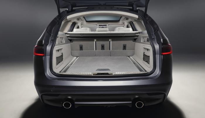 Jaguar XF Sportbrake Coffre